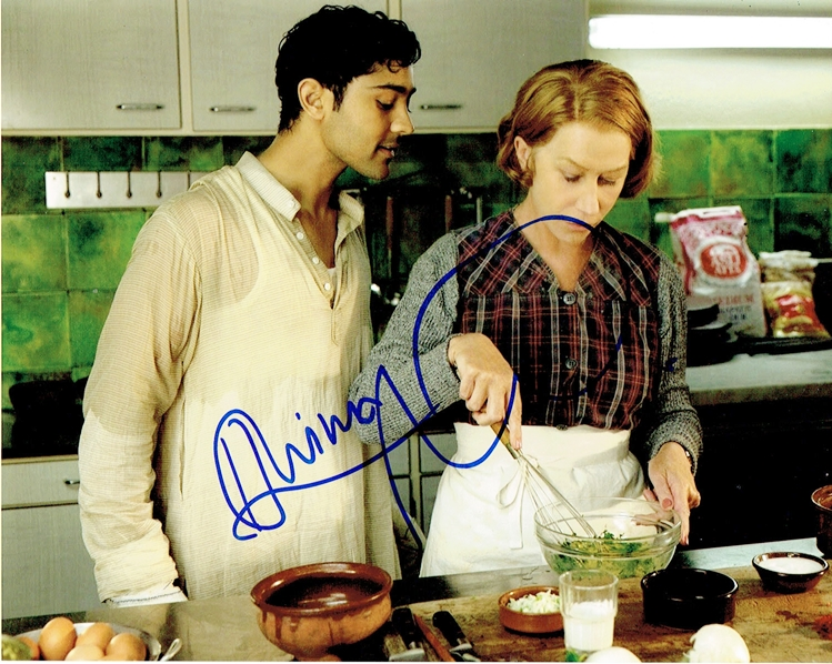 Helen Mirren & Manish Dayal Signed Photo