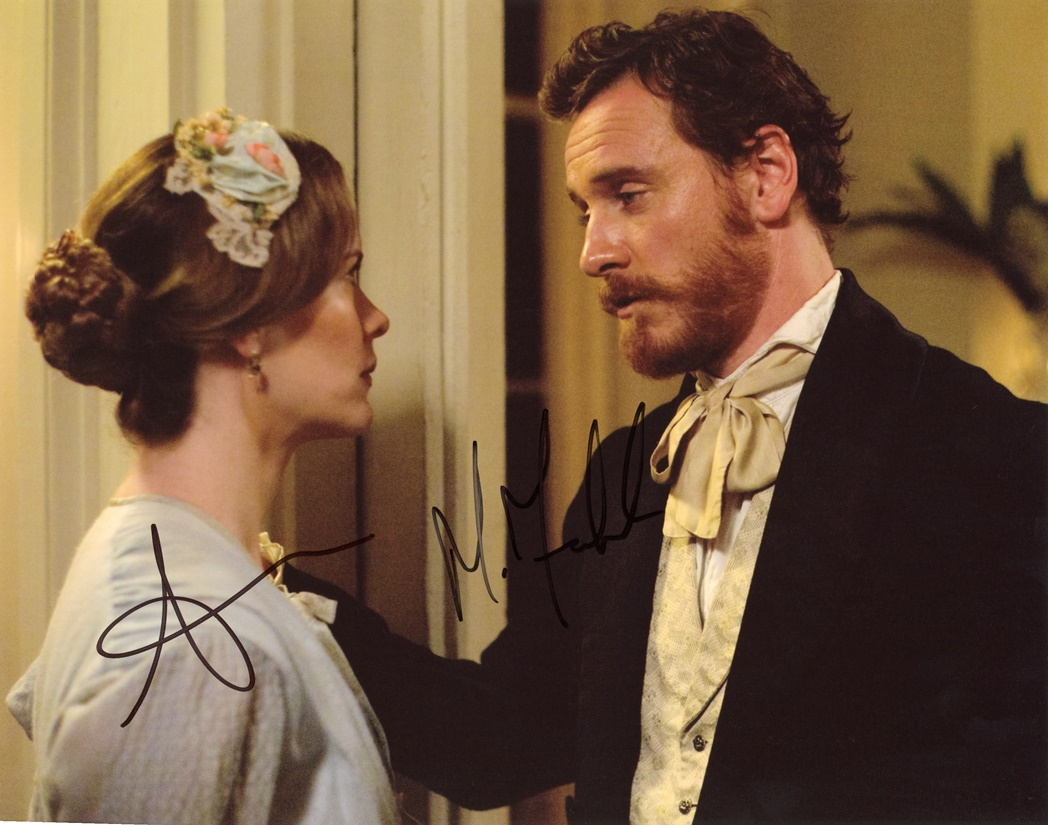 Michael Fassbender & Sarah Paulson Signed Photo