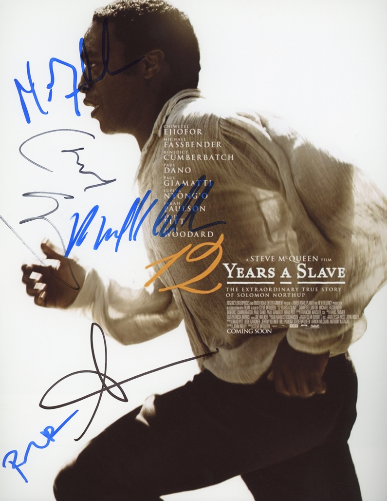12 Years a Slave Signed Photo