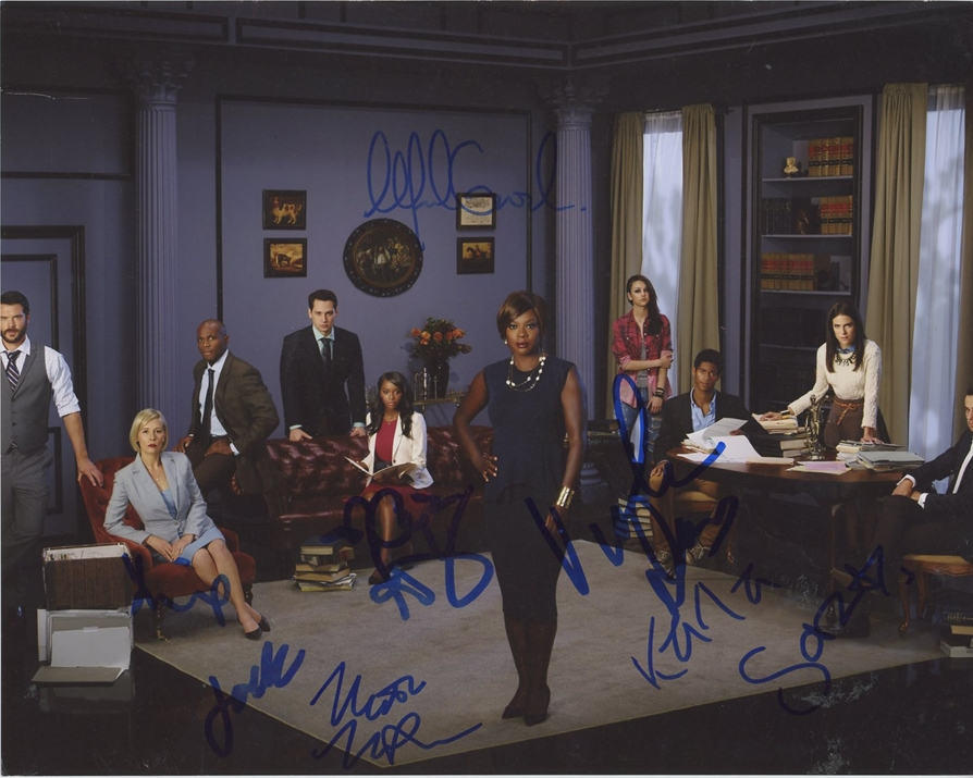 How to Get Away with Murder Signed Photo