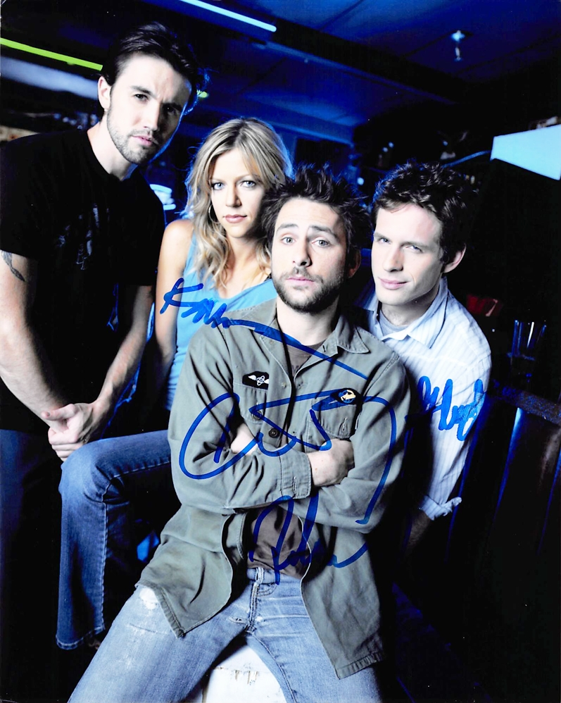 It's Always Sunny Signed Photo