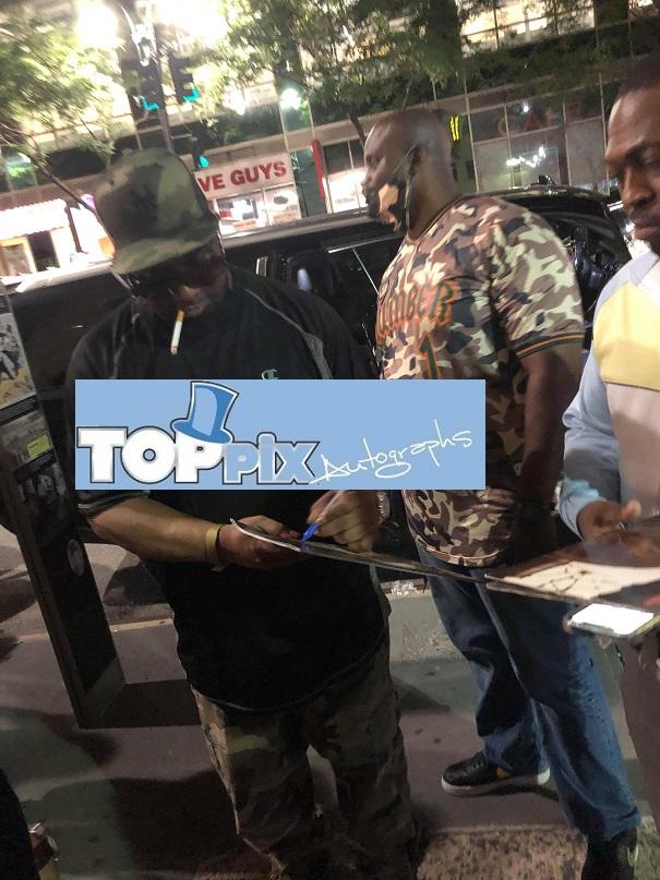 Kool G Rap Signing