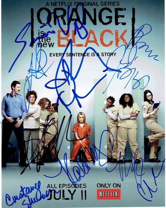 Orange is the New Black Signed Photo