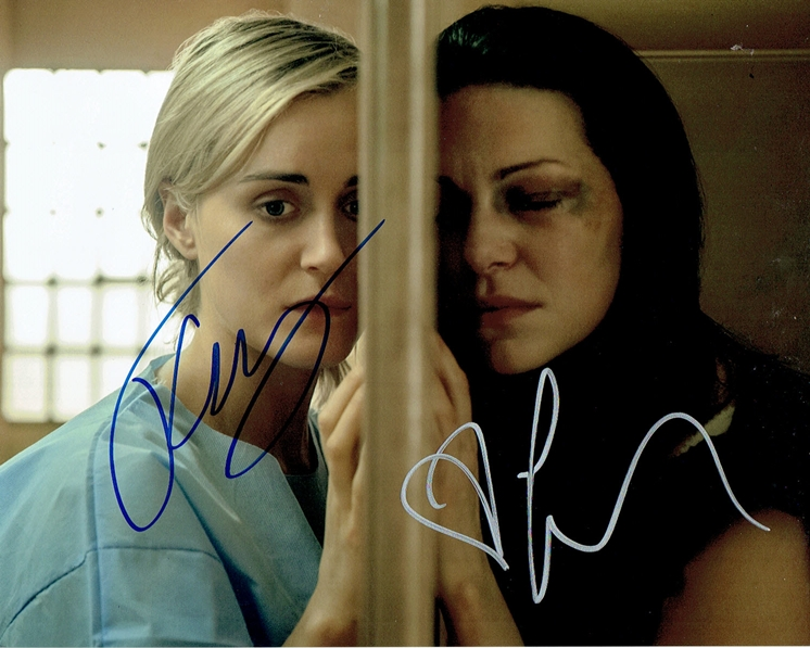 Taylor Schilling & Laura Prepon Signed Photo