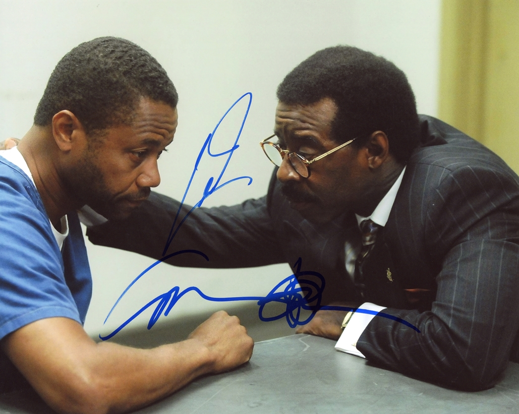 Cuba Gooding, Jr. & Courtney B. Vance Signed Photo