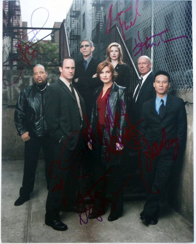 Law & Order Signed Photo