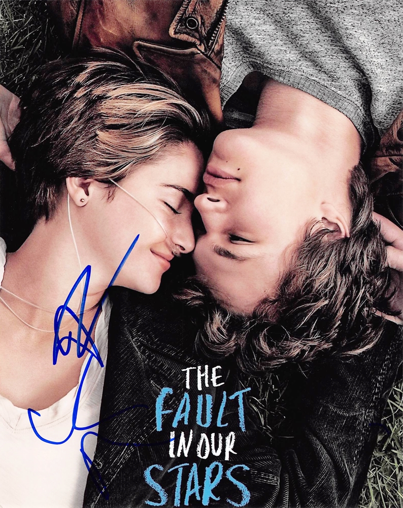 The Fault in Our Stars Signed Photo