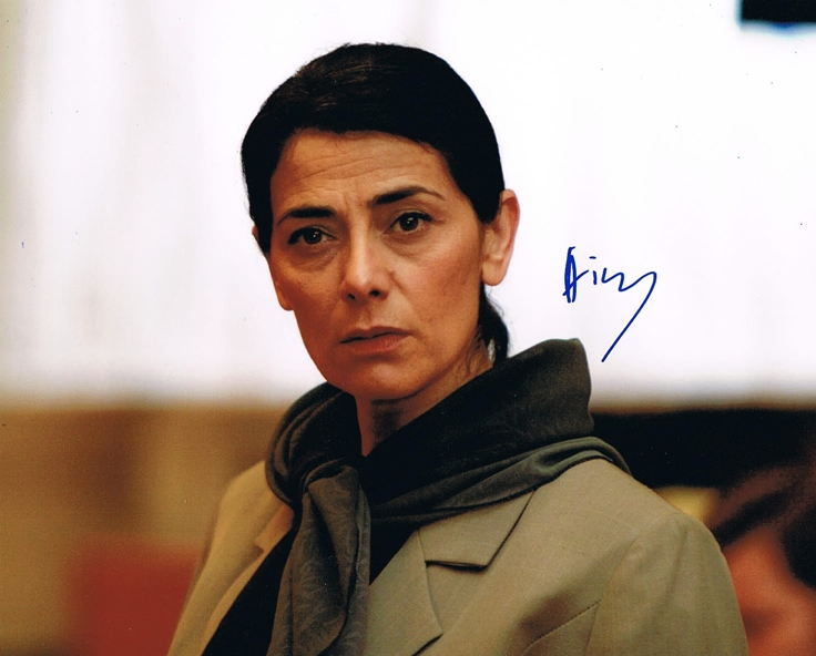 Hiam Abbass Signed Photo