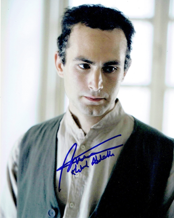 Khalid Abdalla Signed Photo