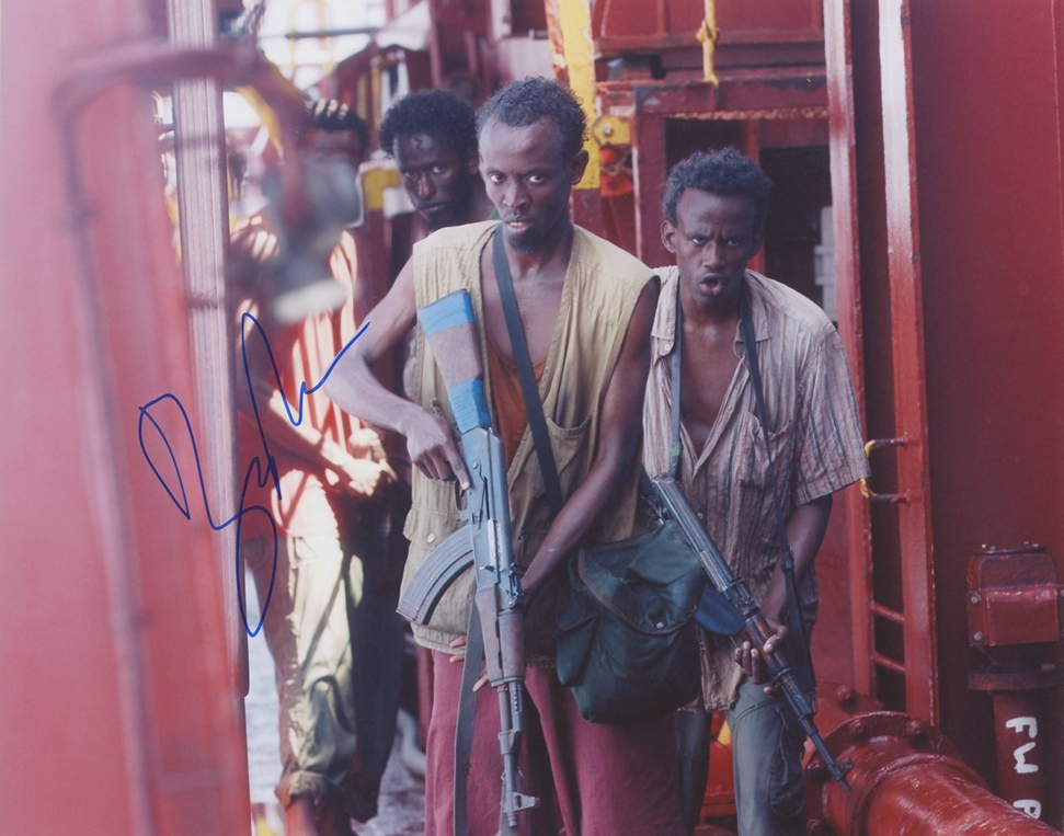 Barkhad Abdi Signed Photo
