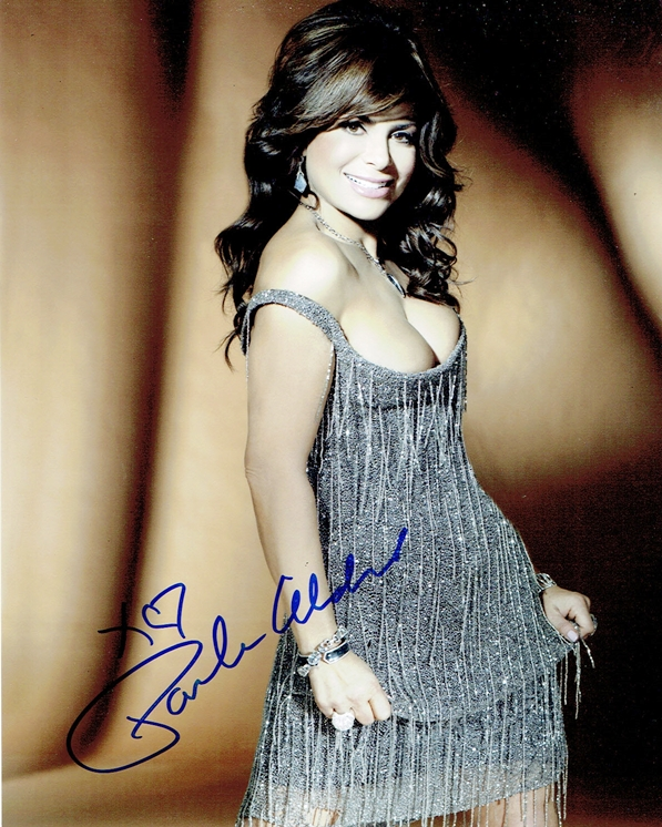 Paula Abdul Signed Photo