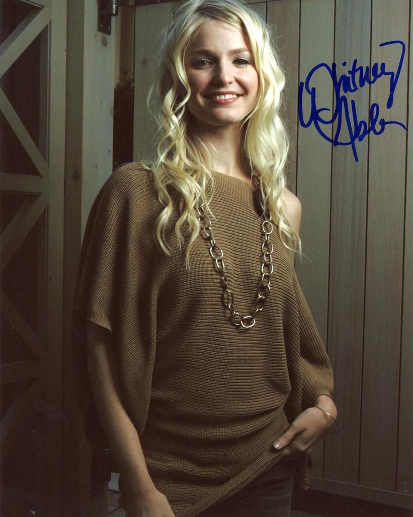 Whitney Able Signed Photo