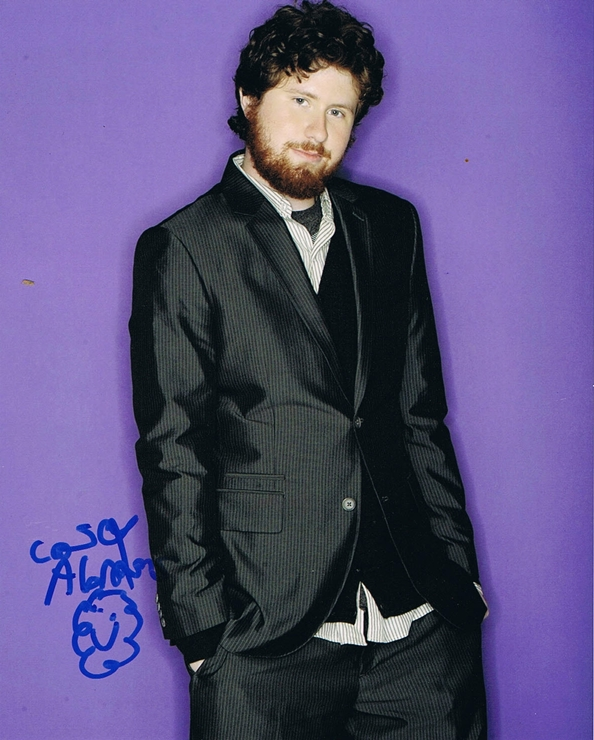 Casey Abrams Signed Photo