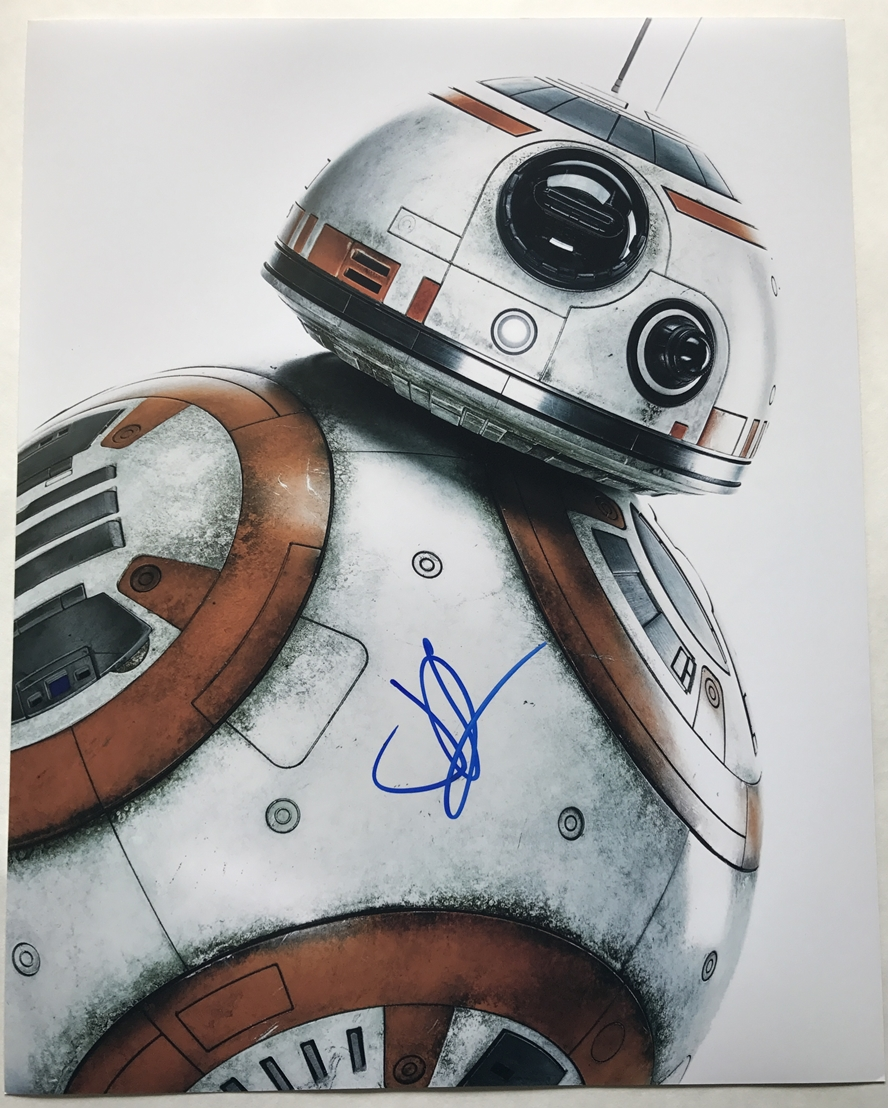 J.J. Abrams Signed Photo
