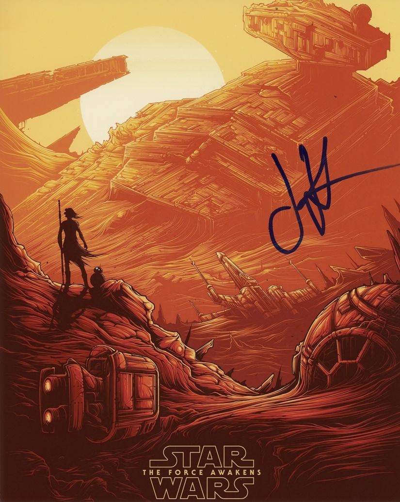 J.J. Abrams Signed Photo