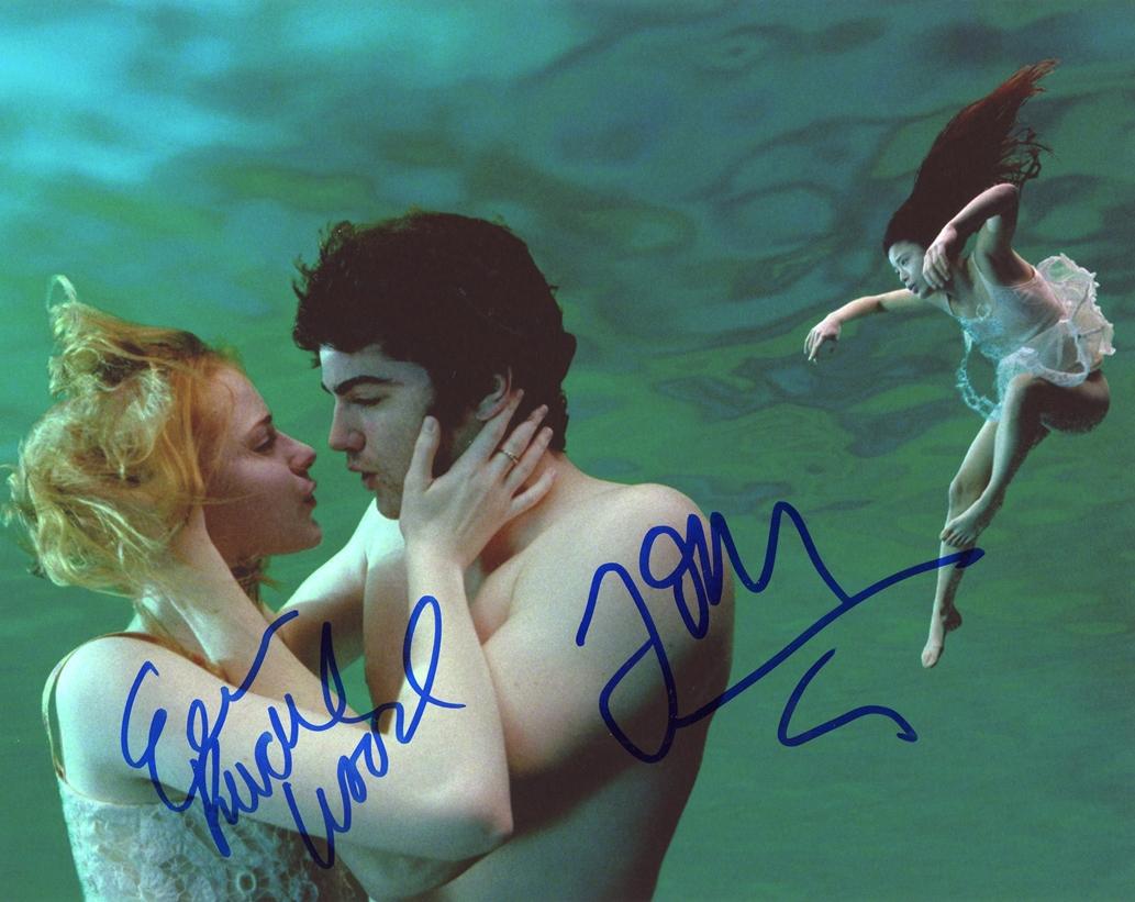 Evan Rachel Wood & Jim Sturgess Signed Photo