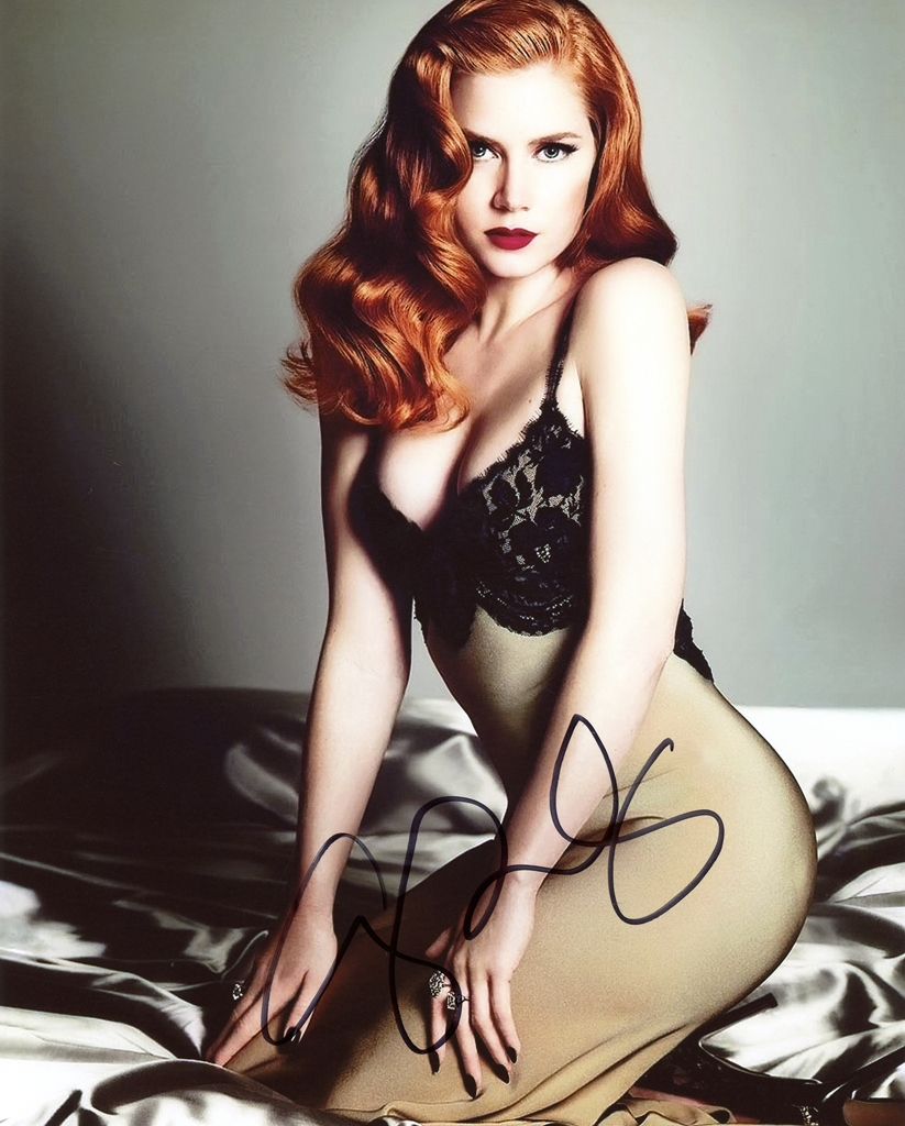 Amy Adams Signed Photo