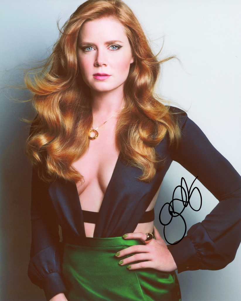 Amy Adams Signed Photo