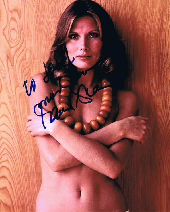 Maud Adams Signed Photo