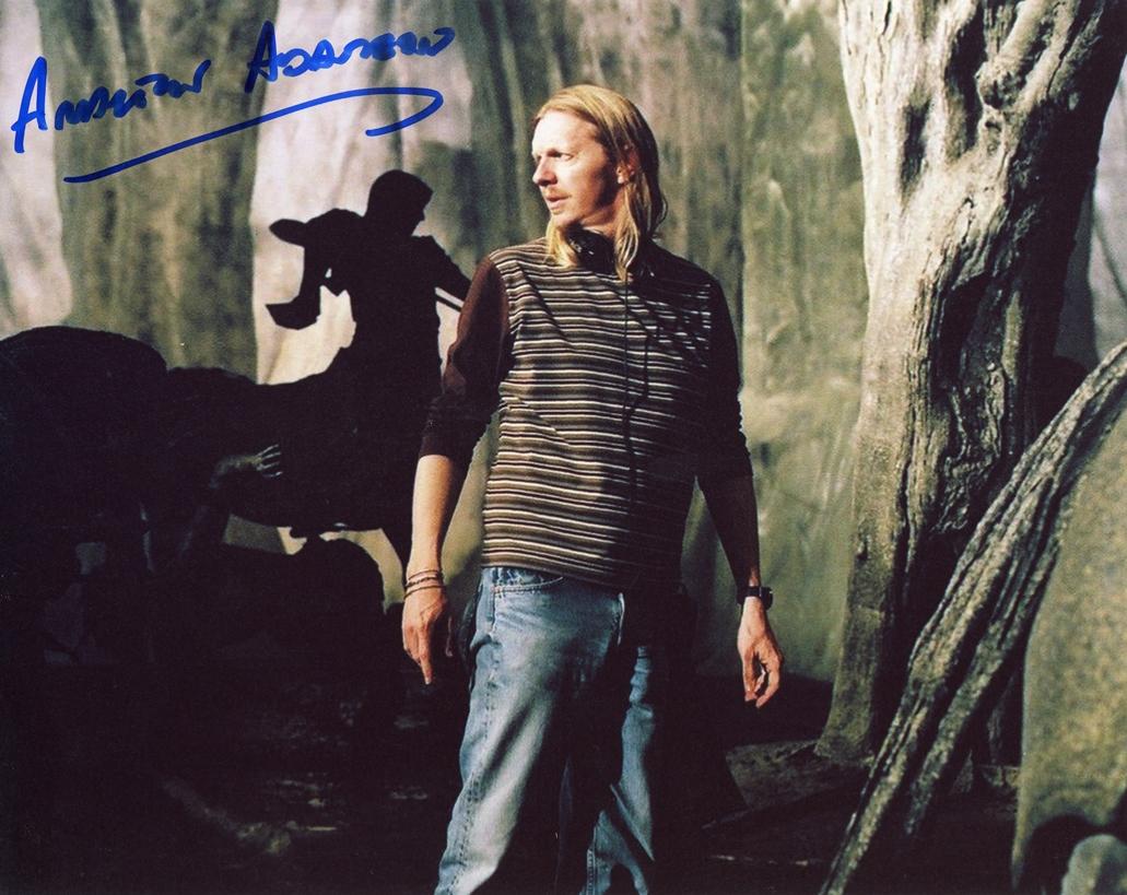 Andrew Adamson Signed Photo