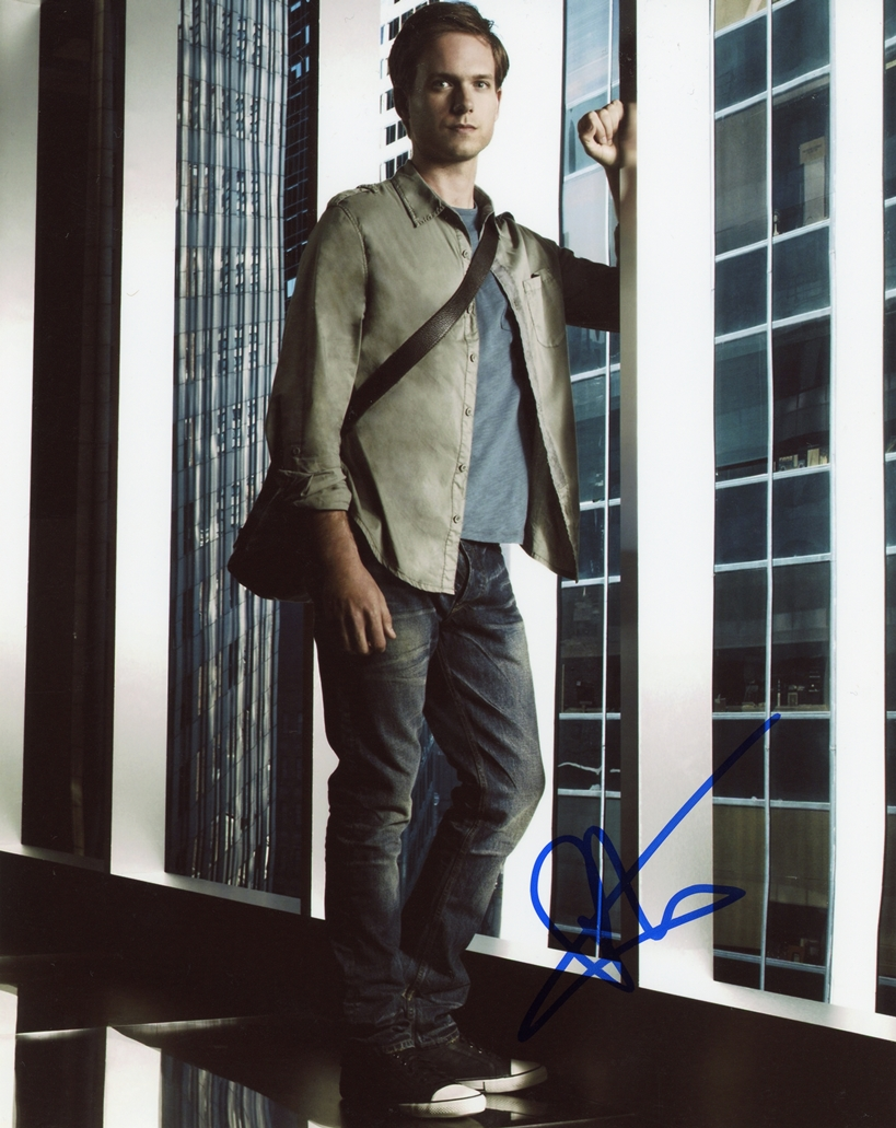 Patrick J. Adams Signed Photo