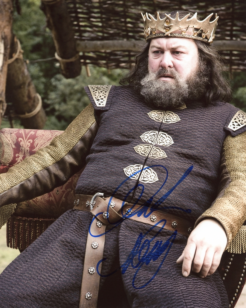 Mark Addy Signed Photo