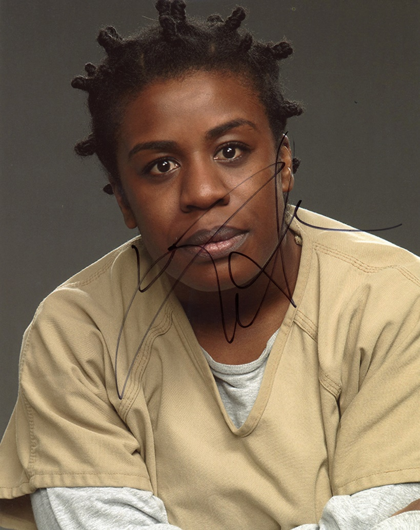 Uzo Aduba Signed Photo