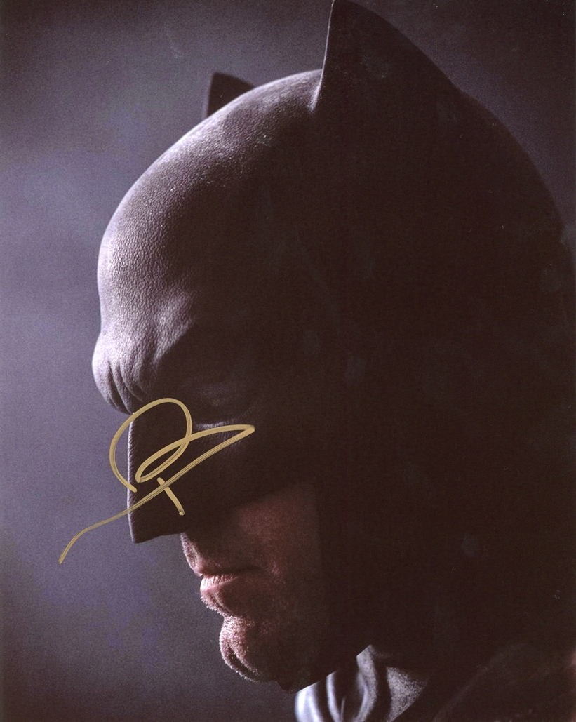 Ben Affleck Signed Photo
