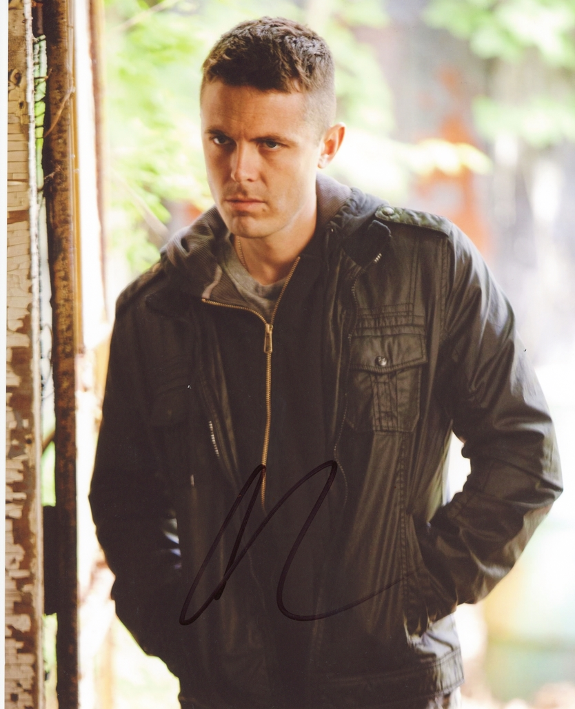 Casey Affleck Signed Photo