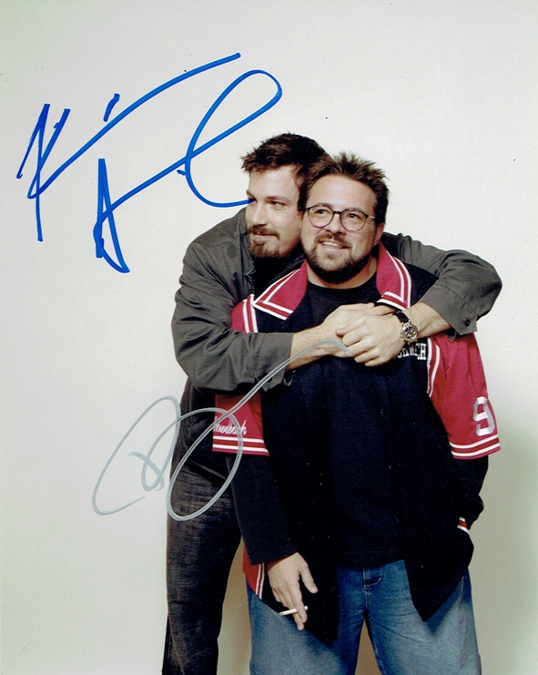 Ben Affleck & Kevin Smith Signed Photo