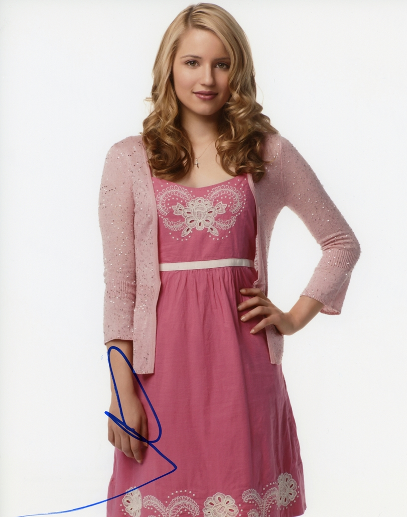 Dianna Agron Signed Photo