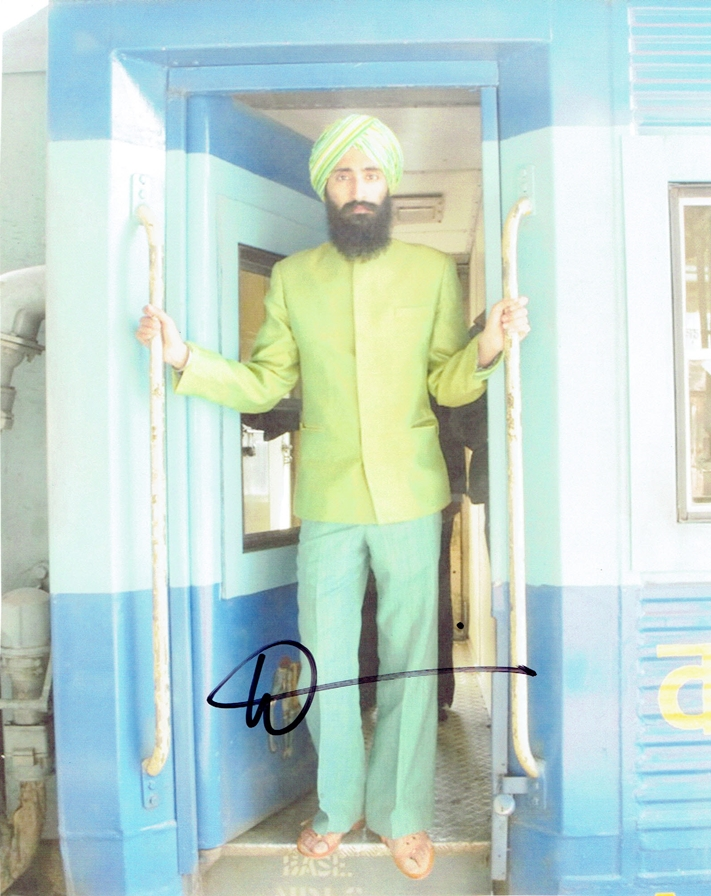Waris Ahluwalia Signed Photo