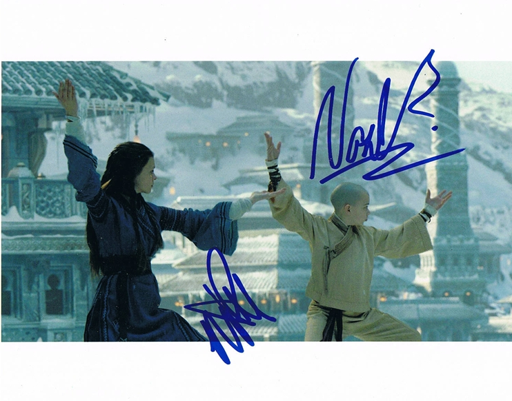 Noah Ringer & Nicola Peltz Signed Photo
