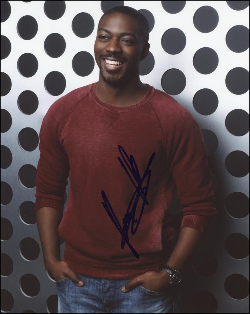 David Ajala Signed Photo