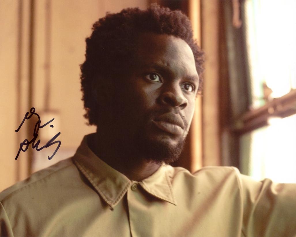 Gbenga Akinnagbe Signed Photo
