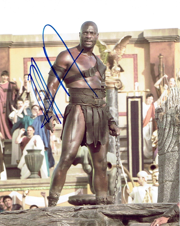 Adewale Signed Photo