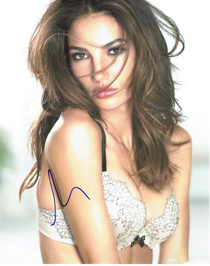 Lily Aldridge Signed Photo