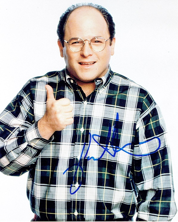 Jason Alexander Signed Photo