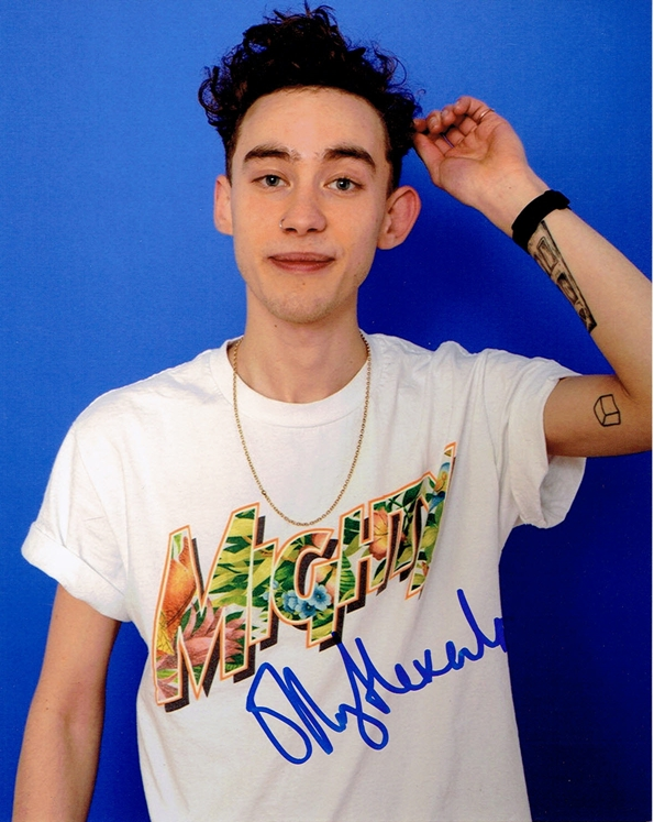 Olly Alexander Signed Photo