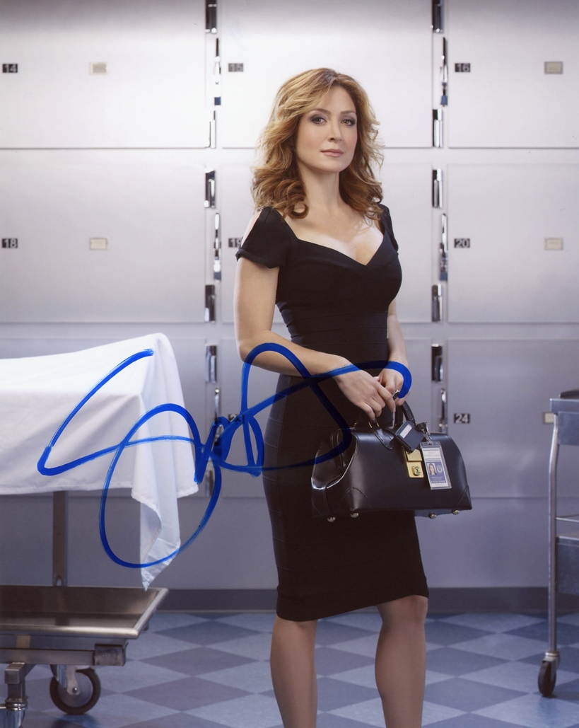 Sasha Alexander Signed Photo