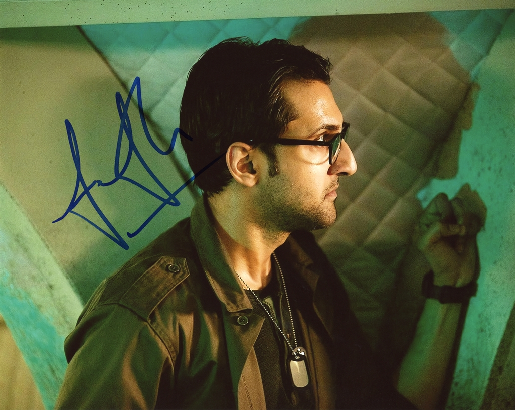 Arsher Ali Signed Photo