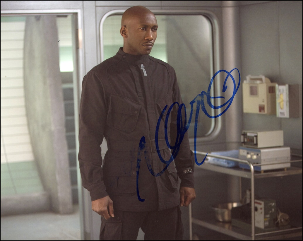 Mahershala Ali Signed Photo