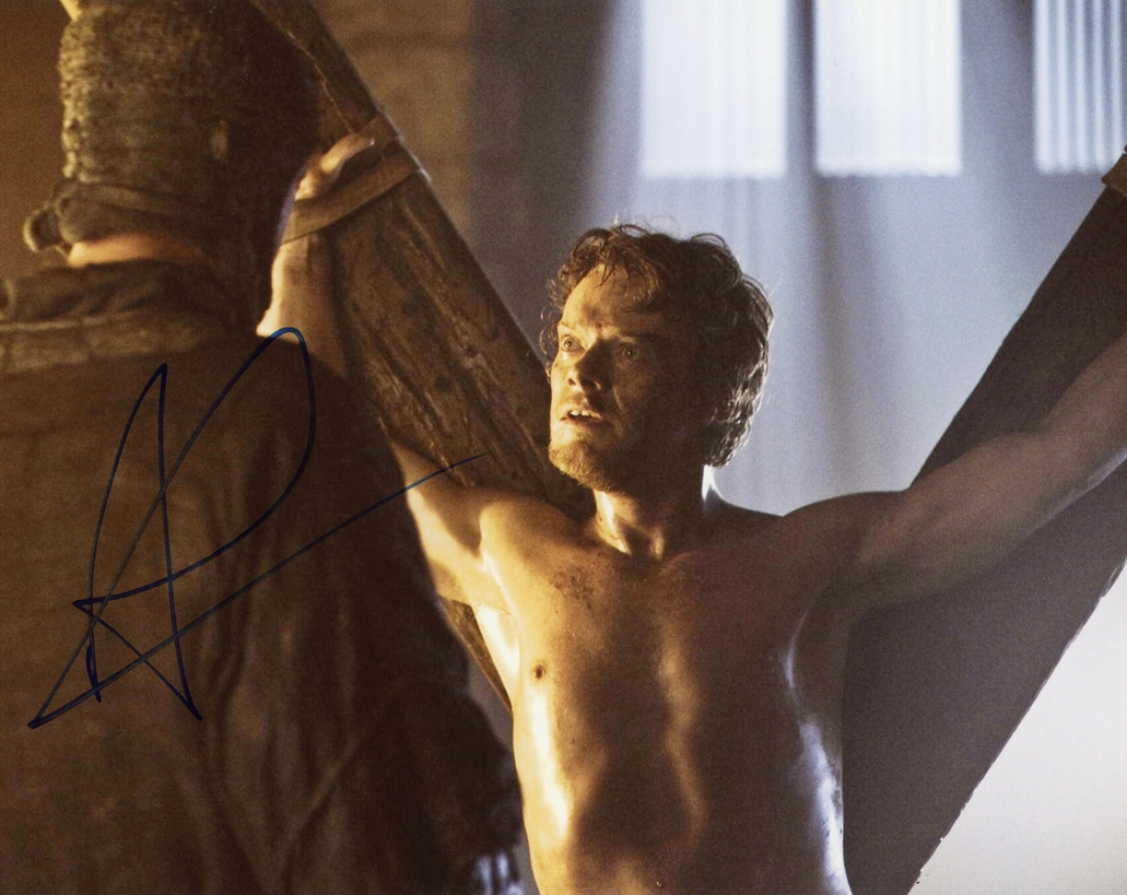 Alfie Allen Signed Photo