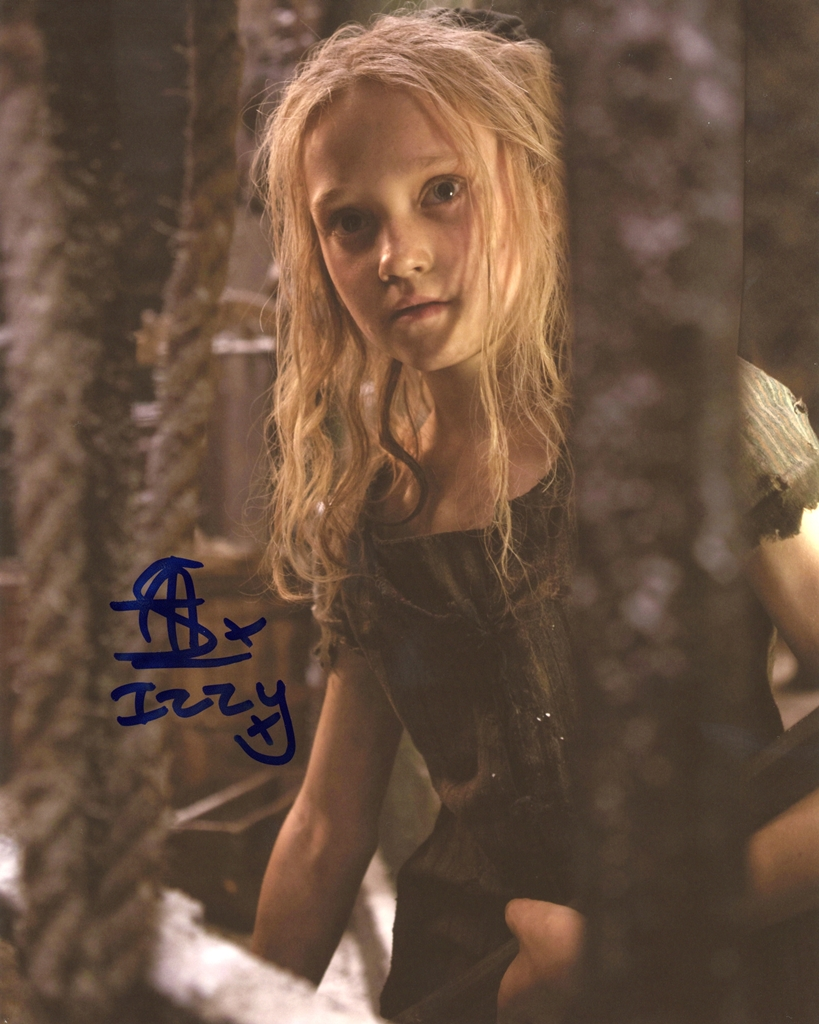 Isabelle Allen Signed Photo
