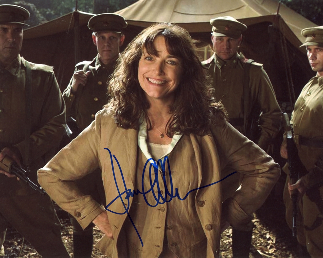 Karen Allen Signed Photo