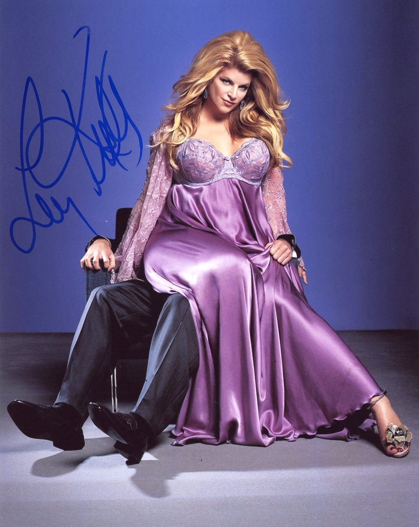 Kirstie Alley Signed Photo
