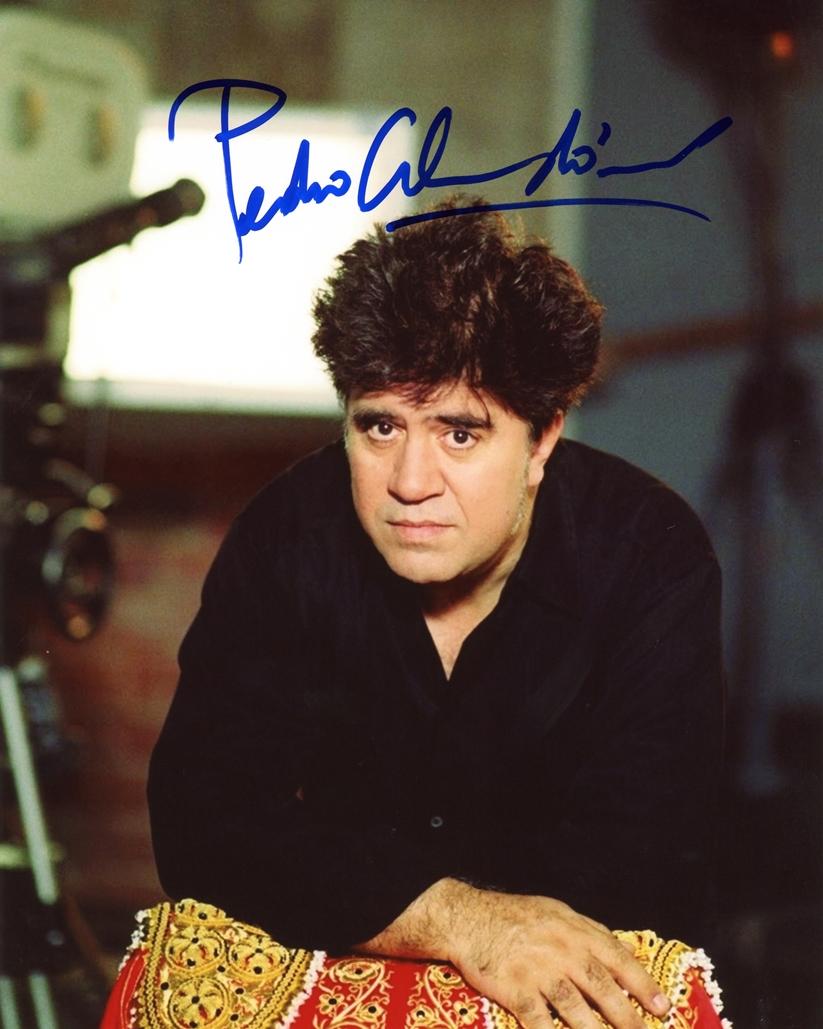 Pedro Almodovar Signed Photo