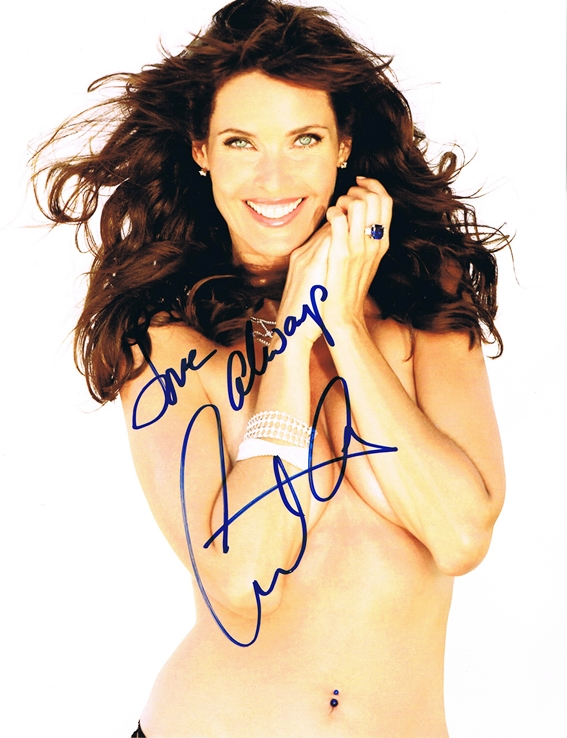 Carol Alt Signed Photo