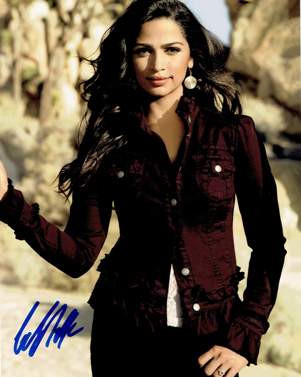 Camila Alves Signed Photo