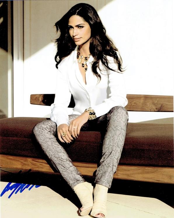 Camila Alves Signed Photo